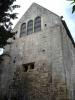 Chapelle: extérieur chevet oriental