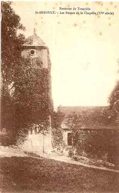 clocher et chapelle façade sud