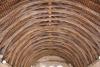 Chapelle: charpente en carène inversée pour bonne partie du XIIIème siècle.