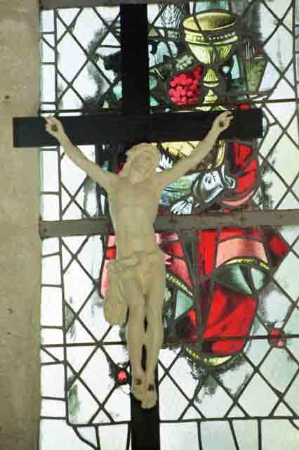 Christ du Tabernacle après restauration (moulage signé Girardon)