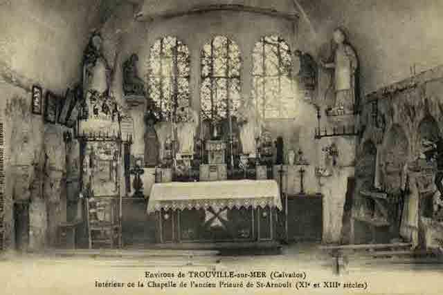 chapelle, intérieur du niveau 1