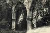 Ruines intérieures de l'église: Carte Postale Ancienne (CPA) fin XIXème.