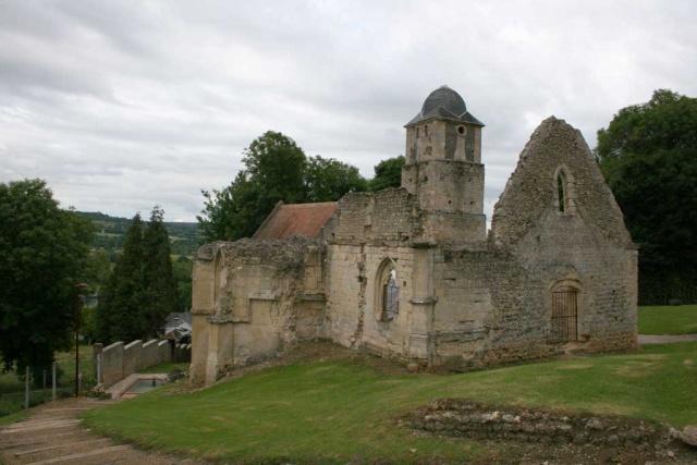 Ruines de l'église été 2007