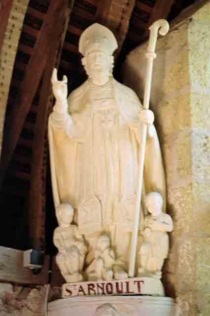 Saint Arnoul après restauration en 2005